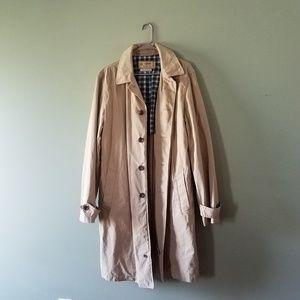 J. Crew men's Sutherland trench coat